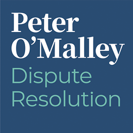 Peter O'Malley Dispute Resolution